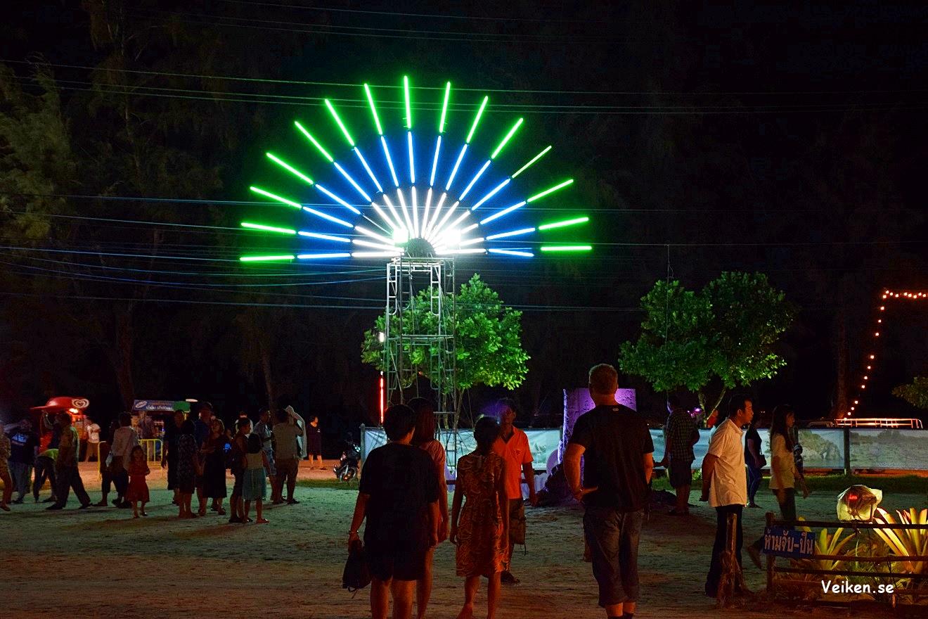 Sandfestivalen 2017 i Laem Mae Phim